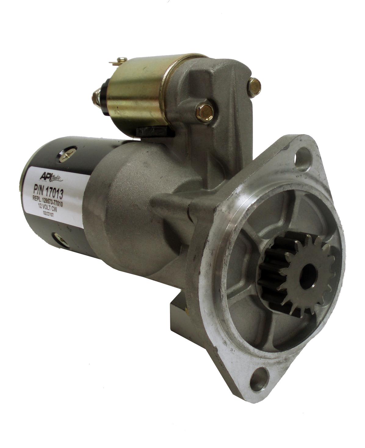 Yanmar Generator Starter 12v 15