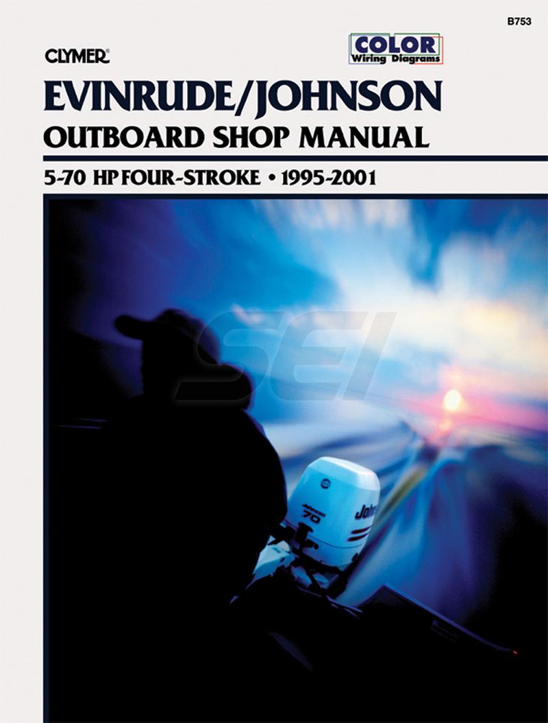 Johnson Evinrude 4 Stk Motor Shop Manual Wiring Diagram