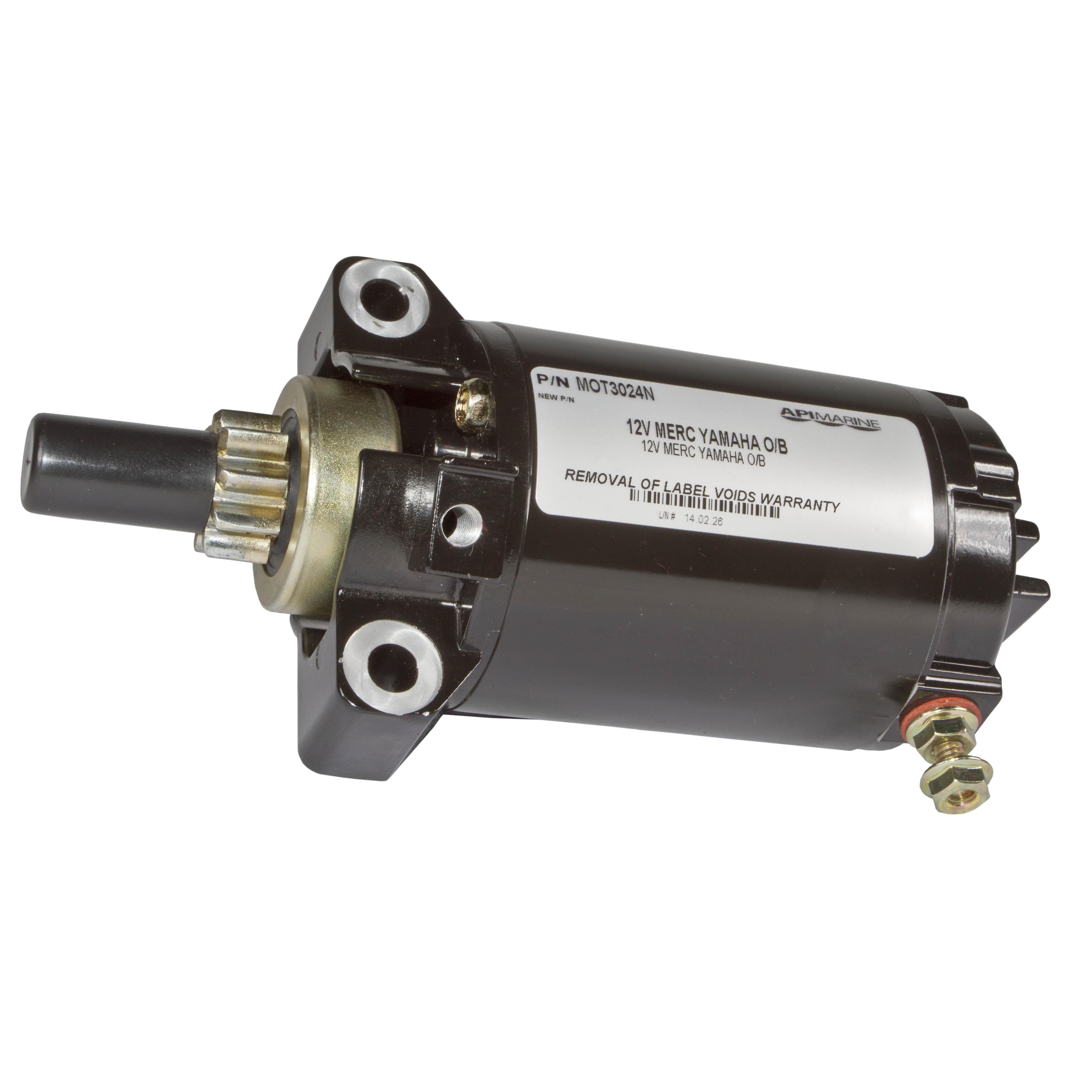 50-893894 66M-81800-02-00 Starter fits Yamaha Outboard Marine 66M-81800-01-00
